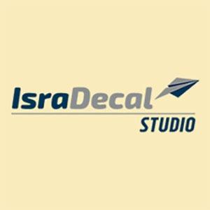 ISRA DECAL MODEL AIRPLANE STUDION LOGO